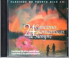 CLASICOS DE PUERTO RICO VOL.3 - FELIPE RODRIGUEZ,FELIPE PIRELA,LUCECITA Y MAS CD