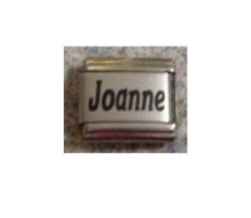 9mm Classic Tamaño Italiano Dijes Nombres nombre Joanne