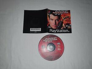 cd disque et notice ps1 playstation 1 sony 007 DEMAIN NE MEURT JAMAIS