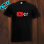 NEW T-Shirt Youtube Player Gift Youtube Funny Viral Fan Adult Kids 8 Colors