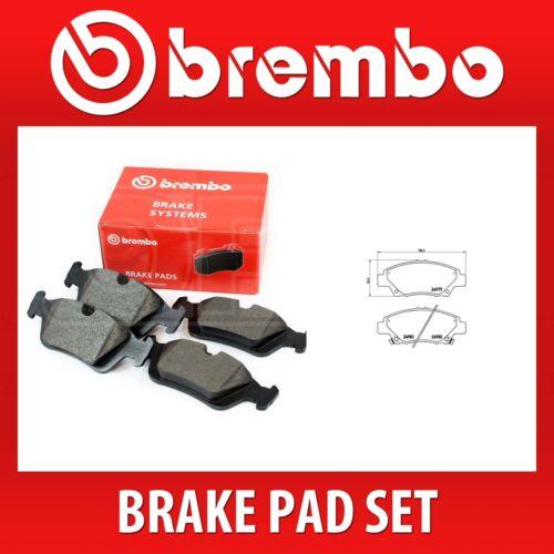 P 28 050 2 Wheels on 1 Axle Brembo Brake Pad Set P28050