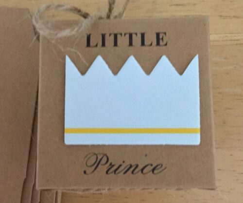 10 PIECES LITTLE PRINCE BABY SHOWER FAVOR BOXES