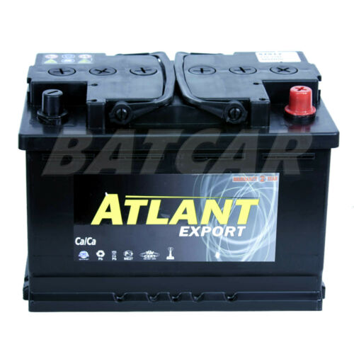Starterbatterie-Autobatterie ATLANT 12V 57Ah ersetzt 50Ah 55Ah 60Ah 65Ah