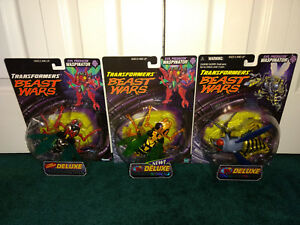 Waspinator Transformers Bête Wars Lot Transmetals Fox Enfants Hasbro Tous Guêpe Guêpière