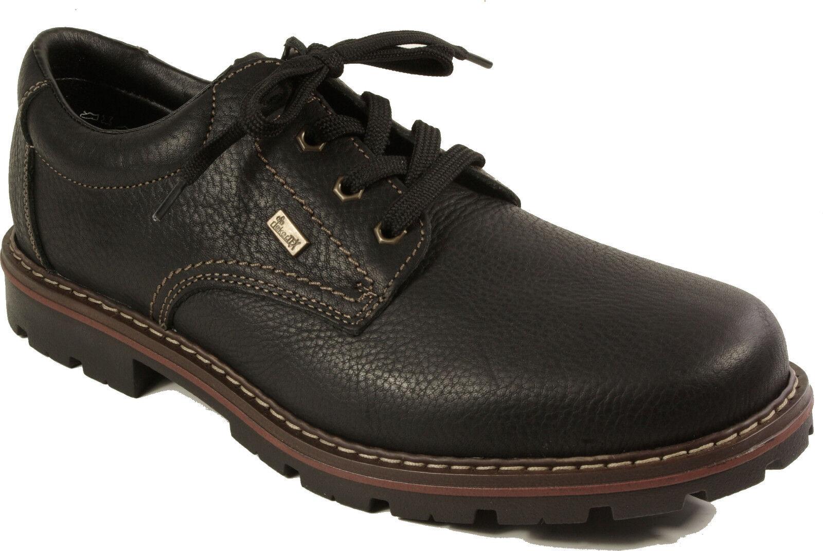 Rieker zapatos brogues. Zapatos de cuero. Nuevo rieker Tex negro.