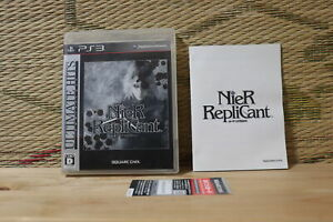 *In Stock* NieR Replicant PS3 Playstation 3 Japan Sony Very Good Condition!   eBay