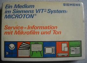 SIEMENS-VIT-System-MICROTON-Nr-15-Videotechnik-Videocord-FM304