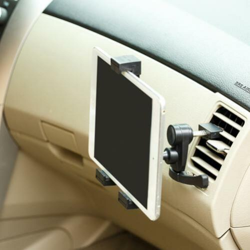 PREMIUM CAR MOUNT VEHICLE AC AIR VENT TABLET HOLDER SWIVEL DOCK CRADLE STAND