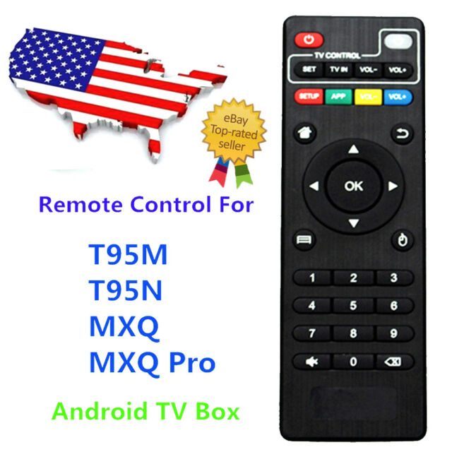 Remote Control Replacement for H96 Pro T95M T95N MXQ MX Pro 4K Android TV  Box US