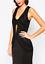 dos us4 Uk8 ouvert Dress détail noir avec Maxi et en eu36 Ladies Jarlo cwIHqx677