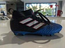 Adidas ACE 17.1 Primeknit Adidas ACE 17.1 Leather FG Football Boots Dark BlueWhiteBlue sale online