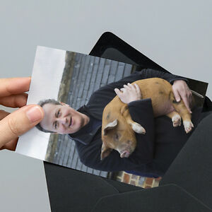 David Cameron with Pig Photo - 6x4 inch - Un-signed with Unsealed ...