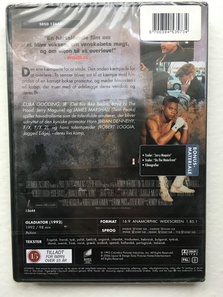 Gladiator (NY, stadig i folie - 1992), instruktør Rowdy