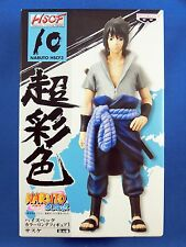 Naruto Shippuden HSCF High Spec Coloring Figure 3 No.10 SASUKE Banpresto NEW