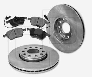 2-Bremsscheiben-und-4-Bremsbelaege-SKODA-Superb-3U4-vorne-288-mm-ab-Fgst-bis-Fgst