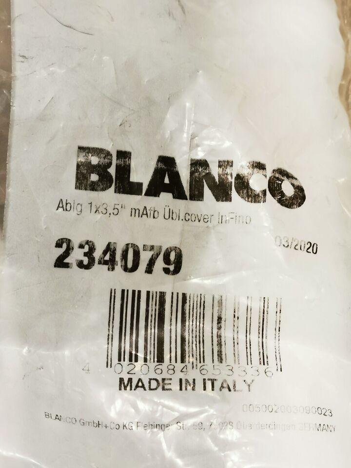Blanco afløbs-/overlæbssæt alt inkl, Blanco