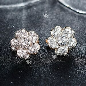 18k-yellow-gold-gf-made-with-SWAROVSKI-crystal-huggies-flower-earrings