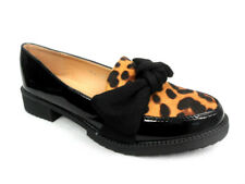 733de47b63f6 item 1 Womens Ladies Flat Low Heel Leopard Bow Loafers Dolly Ballerina Size Shoes  Pumps -Womens Ladies Flat Low Heel Leopard Bow Loafers Dolly Ballerina ...