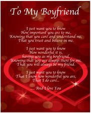 item 2 to my boyfriend poem birthday christmas valentines day gift present to my boyfriend poem birthday christmas valentines day gift present - What Do I Get My Boyfriend For Christmas