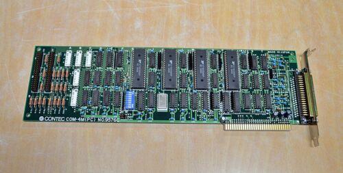 NO.9576C free ship Contec ISA Card COM-4M PC