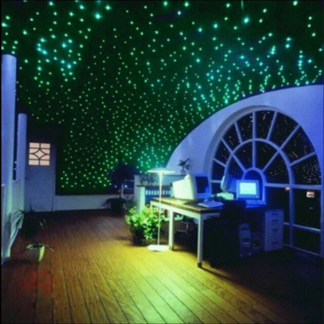 Decor In DIY Glow Bedroom Wall Home Dark 200pcs Room The Stickers Stars