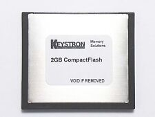 2GB COMPACT FLASH MEMORY 4 ROLAND SP-555 SP555 SAMPLER