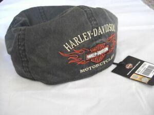 Harley-Davidson-Flame-Grafik-Yvi-Bar-amp-Shield-Cap-Kappe-Muetze-99537-11VM