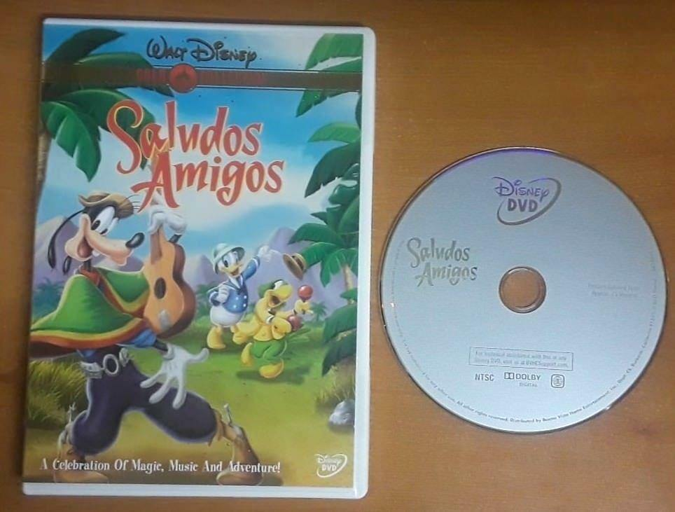 Saludos Amigos Dvd