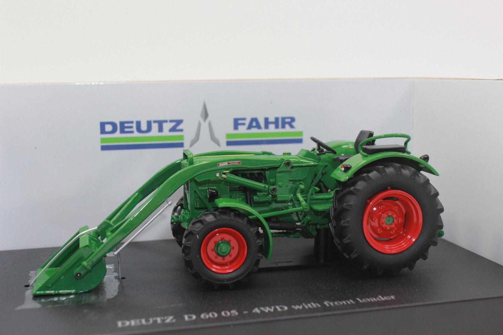garantía de crédito Uh 5307 Deutz Fahr d6005 4wd + Cochegador frontal 1 1 1 32 nuevo en OVP  Ahorre 60% de descuento y envío rápido a todo el mundo.