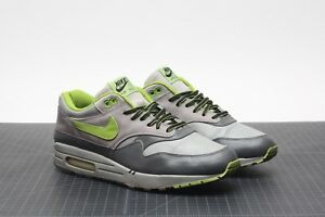 new product c284a ae878 Image is loading 2004-Nike-Air-Max-1-HUF-ANTHRACITE-GREY-