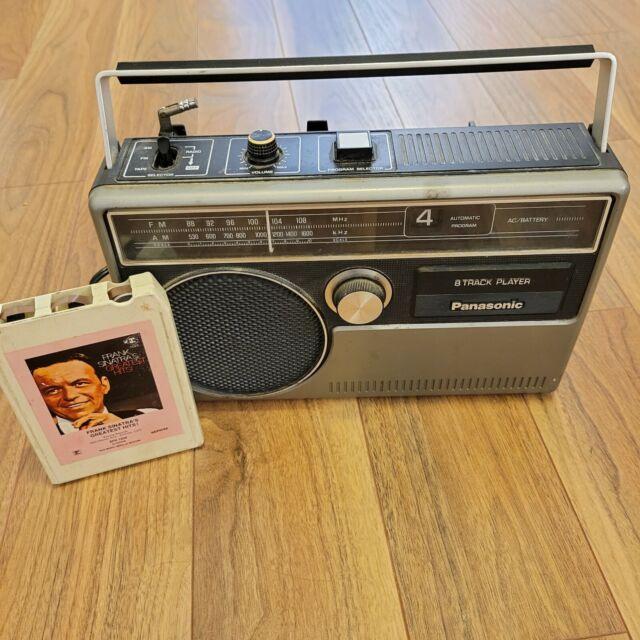 Panasonic RQ-831 Portable 8-Track Tape Player & Radio - Radio Works *For Parts