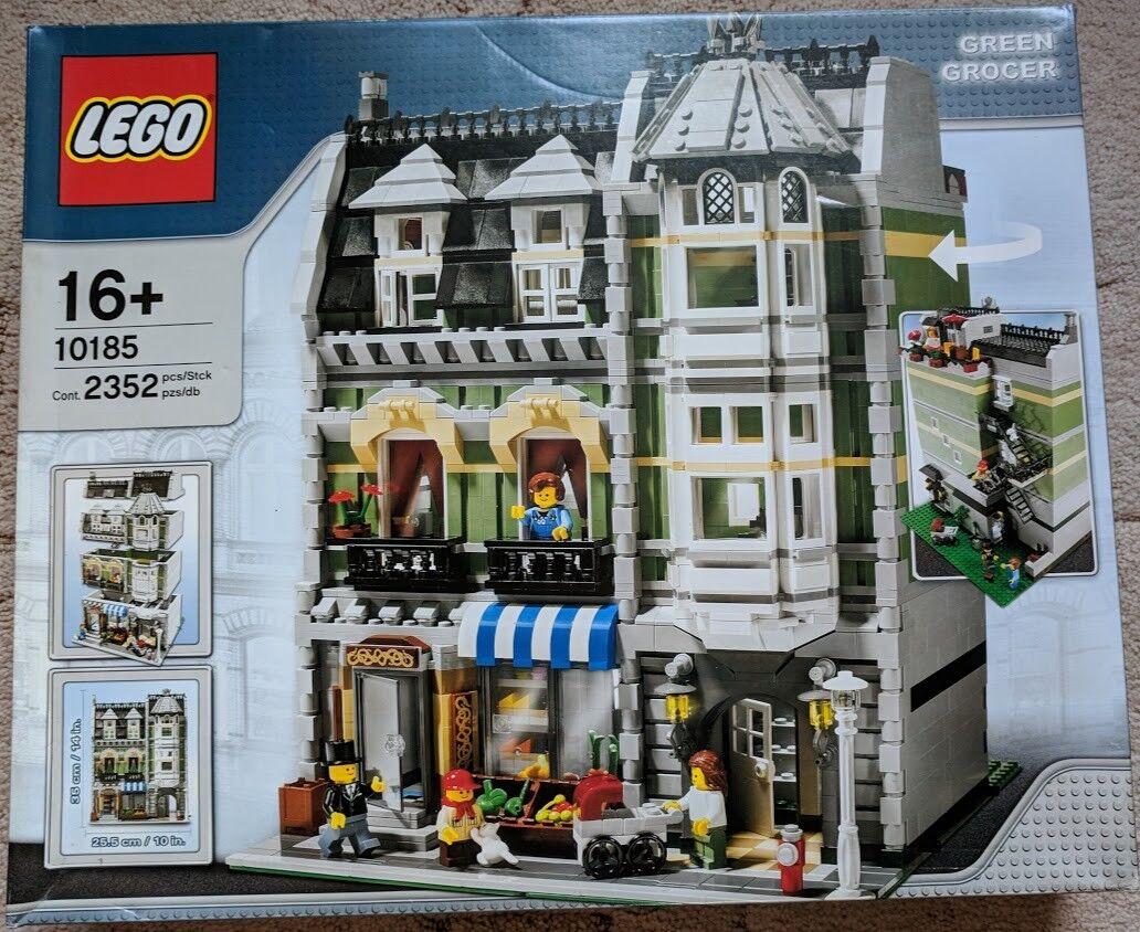 LEGO CREATOR Expert Set 10185 VERDE il DROGHIERE-Scatola Nuovo Di Zecca in