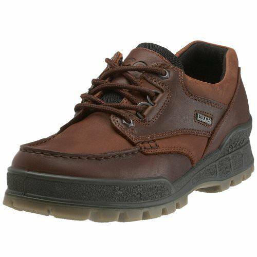 8bf210d3 ECCO Track II Mens Size 11 Brown 45 EU Leather Walking Shoes