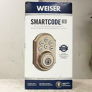 Electronic Lock : WEISER SmartCode 5  @MAAS_COMPUTERS Toronto (GTA) Preview