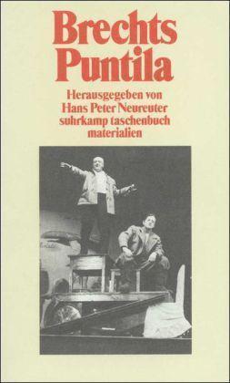 1 von 1 - Brechts Puntila und sein Knecht Matti von Bert Brecht (1987), UNGELESEN