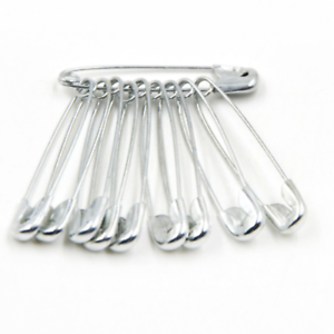100pcs Durable Medium Large Safety Pins Sewing Scarf Wedding Art Crafts Findings