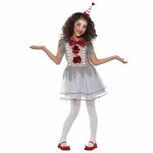 nuovo aspetto selezione più recente a piedi a Details about New Vintage Kids Childrens Penny Clown Film Horror Halloween  Fancy Dress Costume