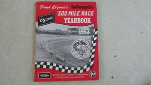 1953-Indianapolis-Indy-500-race-history-Clymer-Yearbook-Bill-Vukovich-wins-Offy