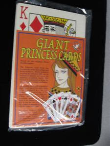 Card Magic Trick Giant Princess Cards - Stage, Close Up, Parlor!!!