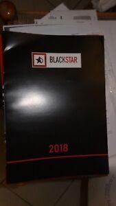 Catalogue Blackstar Année 2018