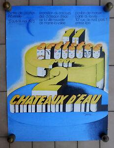 MAURICE-GARNIER-1973-POSTER-AFFICHE-MANIFESTO-CM-59-X-45