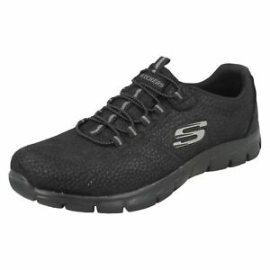 12407 Skechers Empire Slip On Nero comando Prendi il Donna Sportive OwqAx5ff