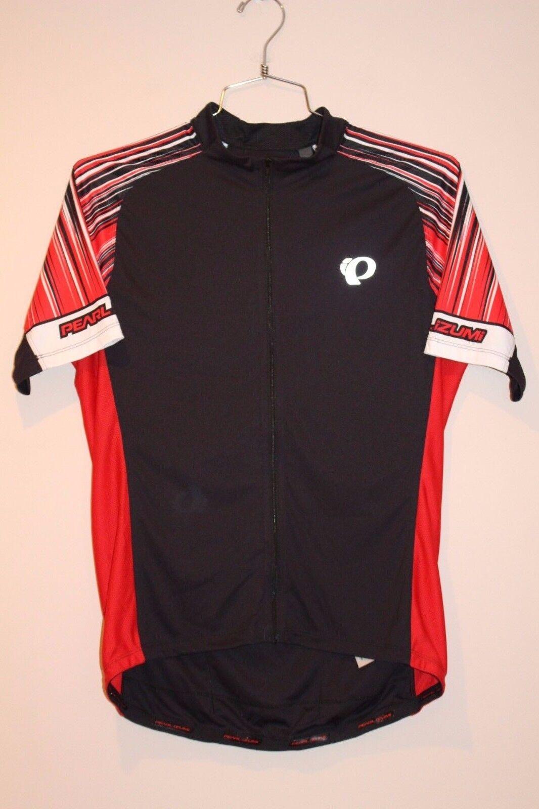 Pearl Izumi Podium Elite Men's Jersey Size XL Red Blk 41121705 NEW