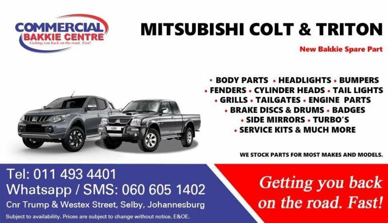 Mitsubishi Triton, Mitsubishi Colt Parts and Spares For Sale
