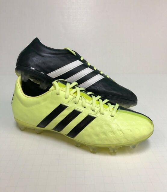 half off c1442 5c197 Adidas 11Pro FG Mens Soccer Cleats Size US 7.5 Yellow Black B24148
