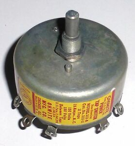 Commutateur-rotatif-12-positions-15-amperes-US-NOS-NIB-Ohmite-axe-6-3-mm