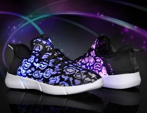 LED-Fiber-Optic-Shoes-Girl-Boy-Men-Women-USB-Recharge-Glowing-Light-Up-Sneakers