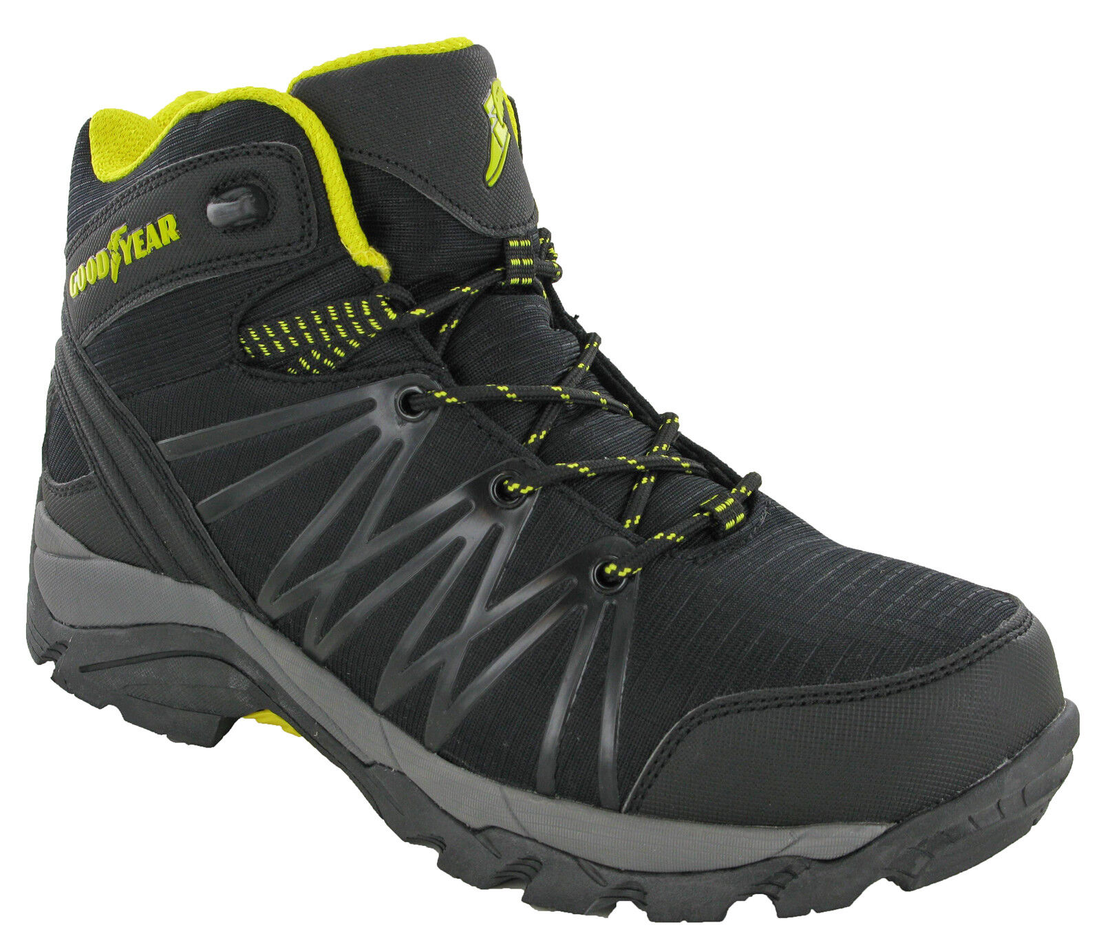 Goodyear Safety Boots Composite Toe S1P Lightweight Metal Free Lace Trainers