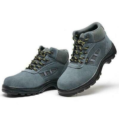 Women Work Ankle Boots Steel Toe Sole hiking Casual Anti-slip labor Safety Shoes