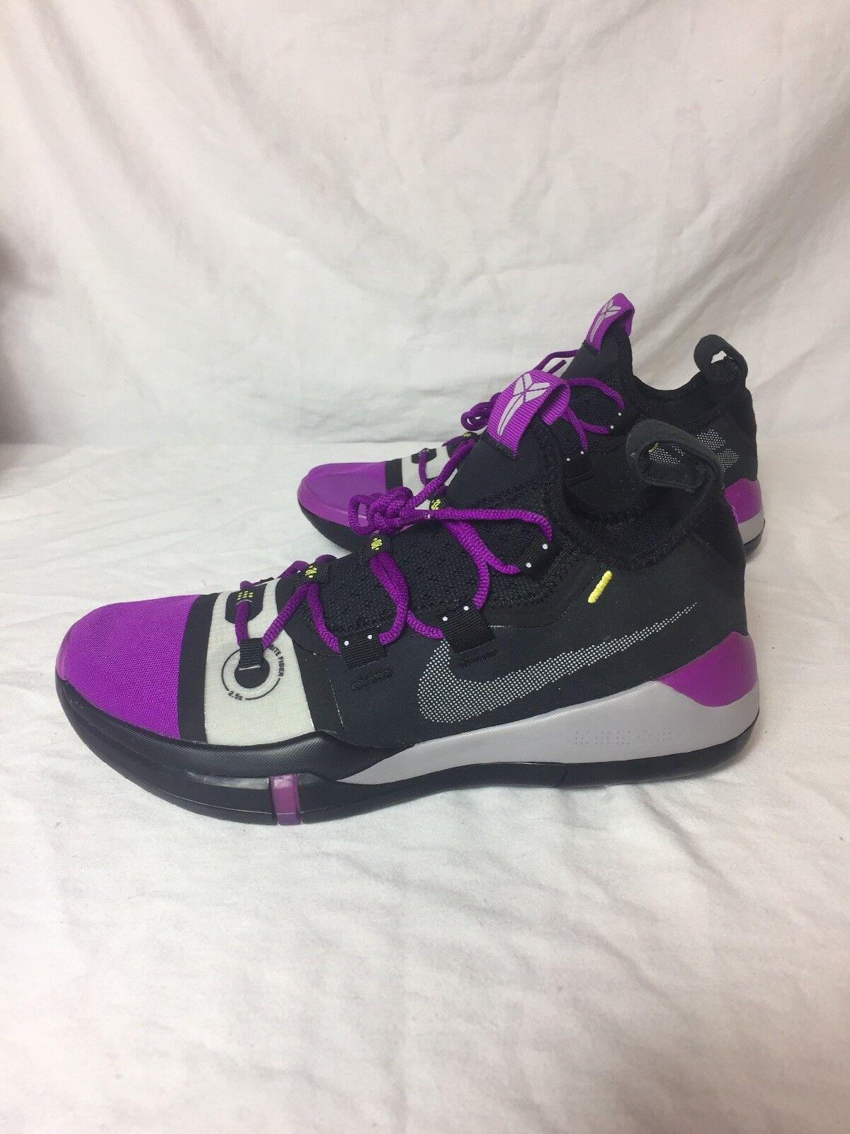 Nike Air Kobe Bryant AD Exodus Black Vivid Purple AV3555-002 A.D. Size 8.5